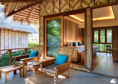 varanda privativa island village resort