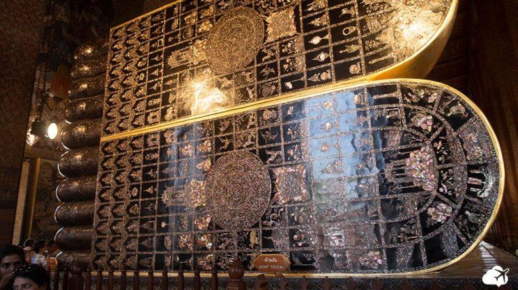 buda deitado - templos budistas de bangkok
