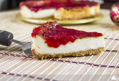 cheesecake é uma das sobremesas típicas