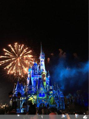 show de fogos no Magic Kingdom viajar nas férias