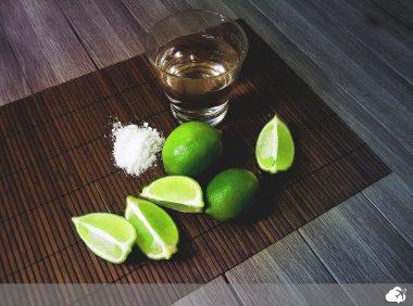 shot de tequila no méxico
