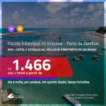 Promoção de <b>PASSAGEM + HOTEL 5 ESTRELAS – ALL INCLUSIVE (Alimentação + Bebidas)</b> para <b>PORTO DE GALINHAS</b>! A partir de R$ 1.469, por pessoa, quarto duplo, c/ taxas!