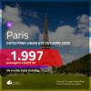 Promoção de Passagens para <b>PARIS</b>! A partir de R$ 1.997, ida e volta, c/ taxas!