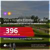 Promoção de <b>PASSAGEM + HOTEL 4 ESTRELAS</b> para <b>CURITIBA</b> com opções de café da manhã incluso! A partir de R$ 396, por pessoa, quarto duplo, c/ taxas!