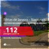 <b>FÉRIAS DE JANEIRO</b> com <b>PASSAGENS NACIONAIS</b> em promoção! Valores a partir de R$ 112, ida e volta!