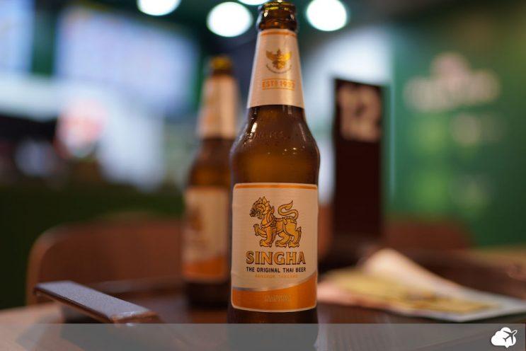 cerveja tailandesa