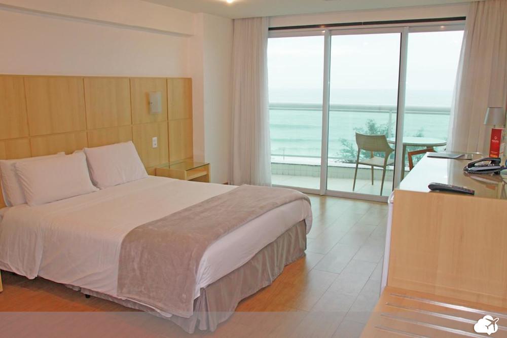 o hotel atlântico sul é uma das opções de hospedagem no bairro recreio dos bandeirantes