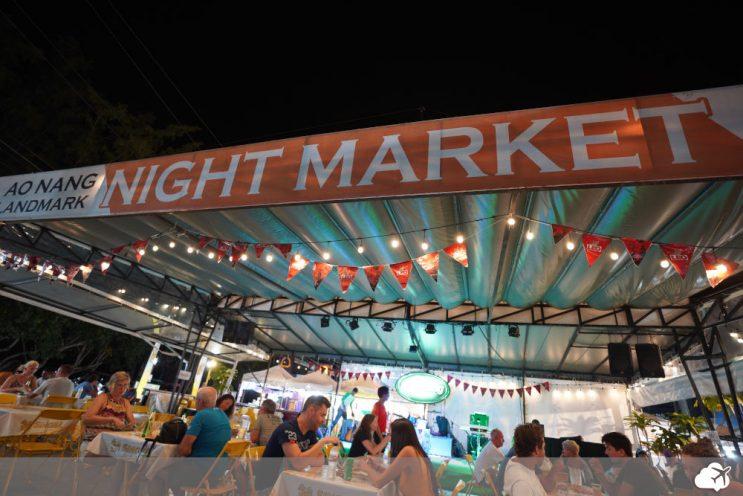 night market ao nang krabi