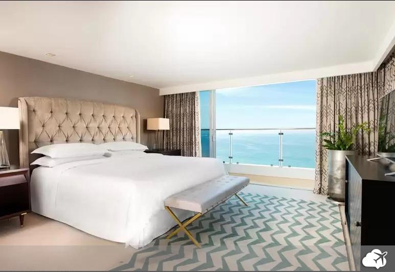 o sheraton leblon é um dos hotéis no Rio de Janeiro