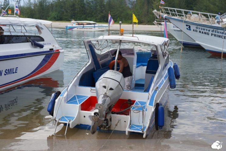 barco em krabi