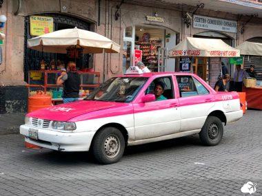 taxi em cancun