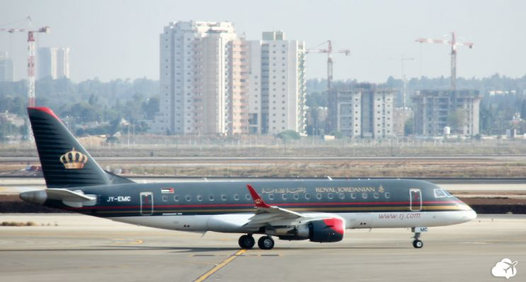 aviao royal jordanian embraer erj 175 200 lr
