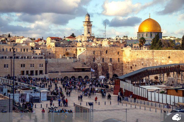 cidade antiga jerusalem