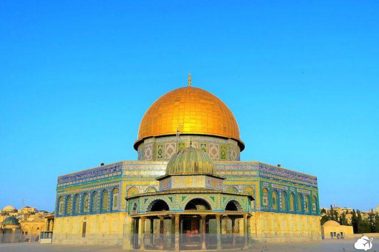 mesquita cupula da rocha
