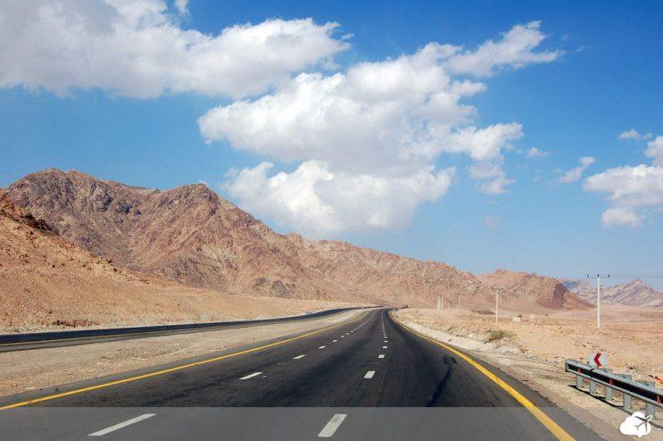estrada na jordania
