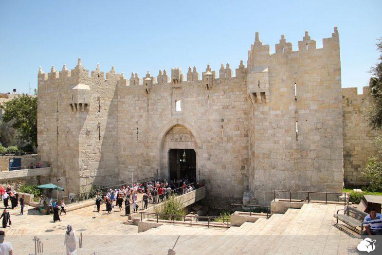 portal da cidade antiga em jerusalem