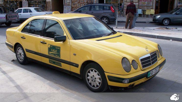 taxi jordania