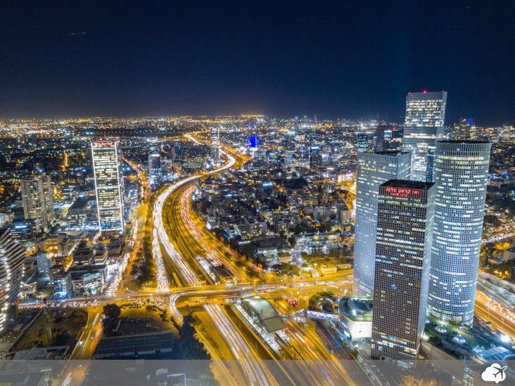 tel aviv a noite israel