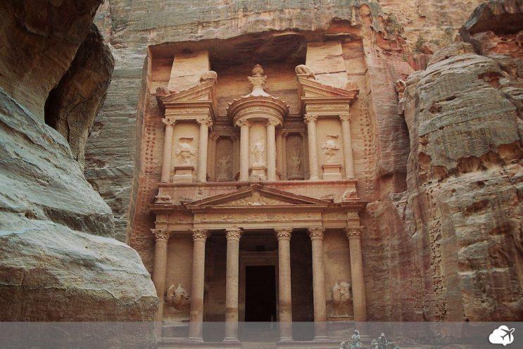 petra jordania tesouro