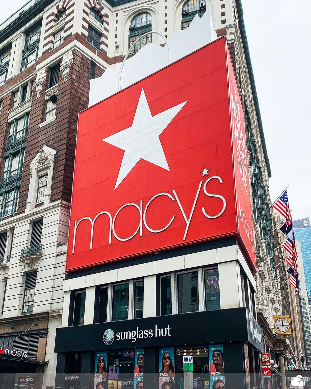 loja de departamento macys store nova york