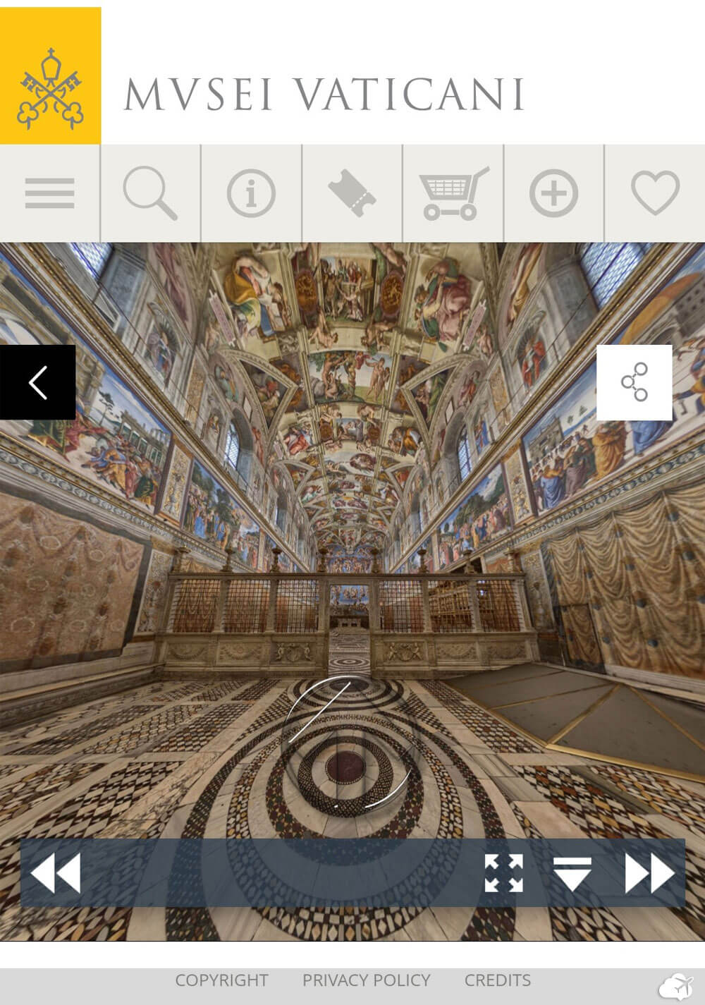 tour virtual museu do vaticano