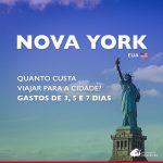 Quanto custa viajar para Nova York: gastos de 5, 7 e 9 dias