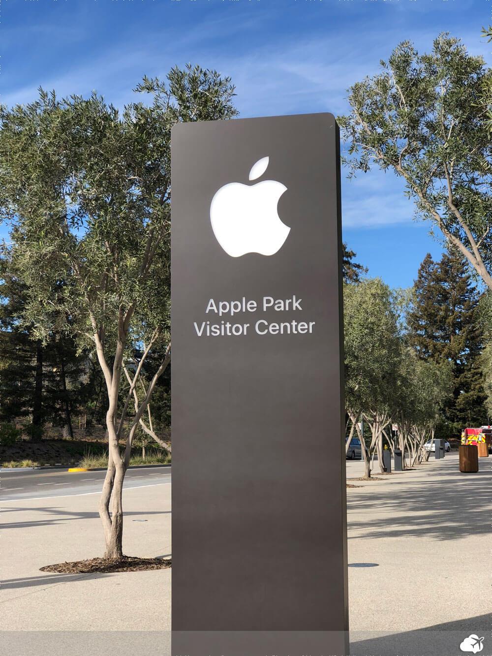 apple park visitor center vale silicio