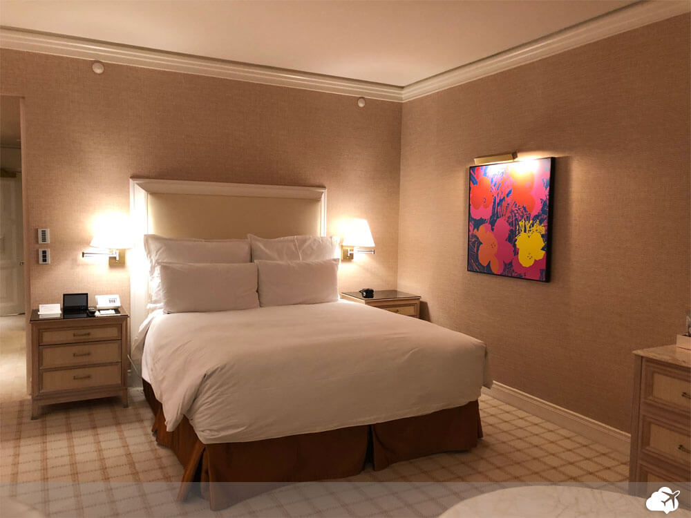 quarto no hotel wynn las vegas