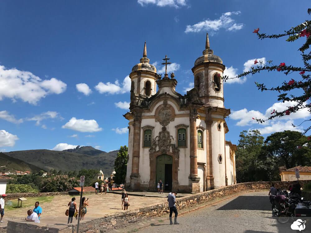 igreja sao francisco de assis ouro preto