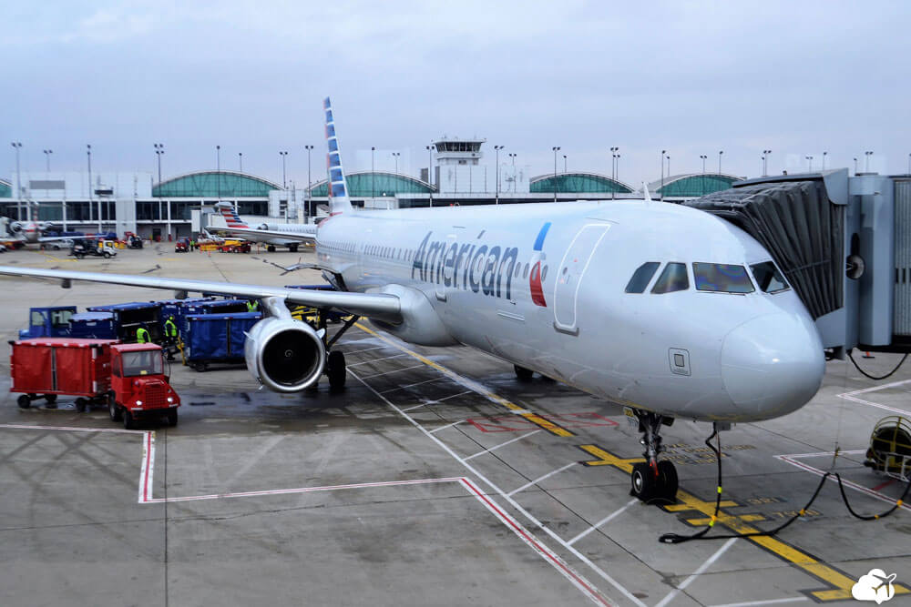 aviao american airlines voo brasil eua
