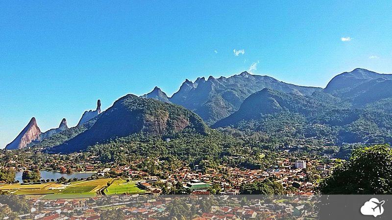 montanhas em teresópolis, rio de janeiro