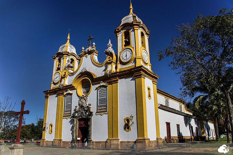 igreja matriz de santo antônio em tiradentes