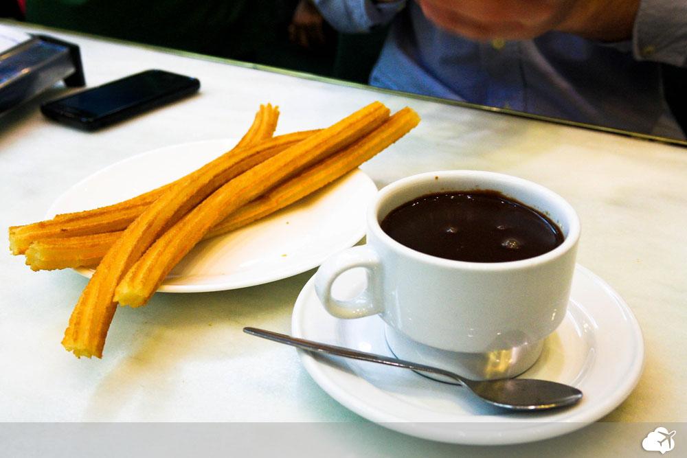 chocolateria san guines em madri