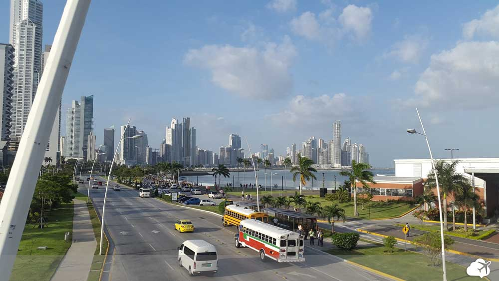 vista panorâmica da cidade do panama