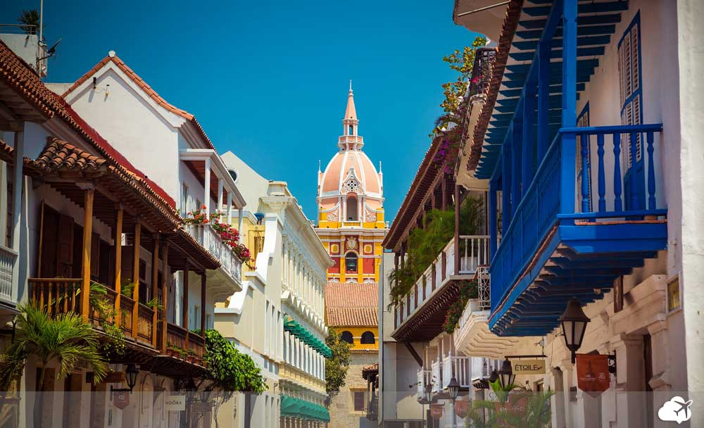 construções históricas em Cartagena