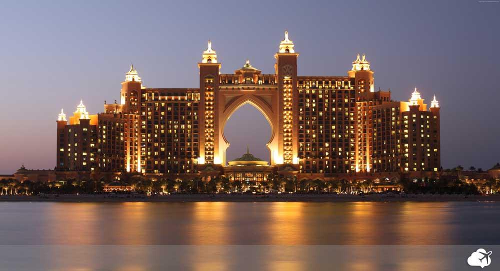 hotel atlantis em Dubai