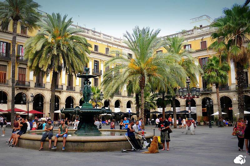 avenida la rambla em barcelona
