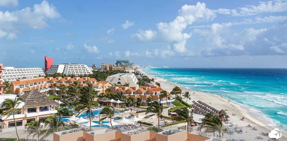 hoteis e praias em Cancun
