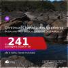 Continua!!! Programe sua viagem para a CHAPADA DOS VEADEIROS! Passagens para <b>BRASÍLIA</b>, com datas para viajar até DEZEMBRO/21! A partir de R$ 241, ida e volta, c/ taxas!