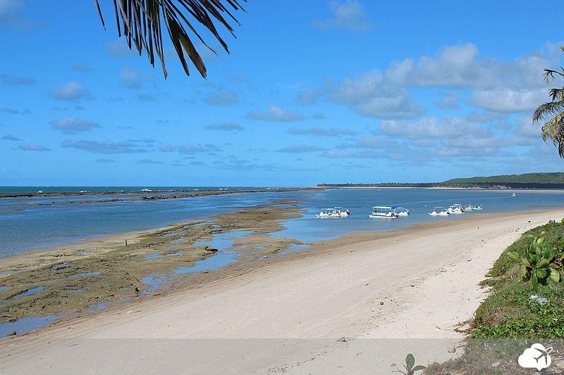 praia da barra de são miguel em alagoas
