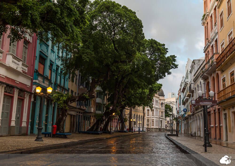 rua de recife antigo