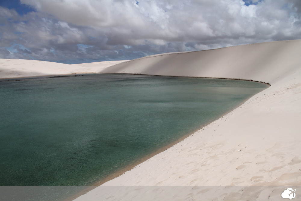 lagoa azul nos lençóis maranhenses