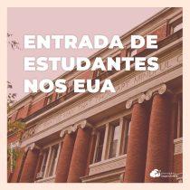 EUA permite entrada de estudantes brasileiros matriculados em cursos a partir de agosto