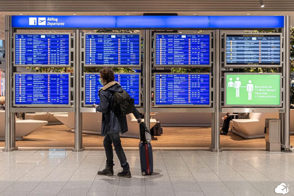 medidas de segurança no aeroporto