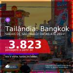 Passagens para a <b>TAILÂNDIA: Bangkok</b>! A partir de R$ 3.823, ida e volta, c/ taxas! Datas até 2022!