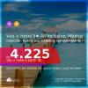Muito bom! Viagem com Resort All Inclusive no México! <b>PASSAGEM + HOTEL com TUDO INCLUÍDO</b> em <b>CANCÚN, PLAYA DEL CARMEN ou RIVIERA MAYA</b>! A partir de R$ 4.225, por pessoa, quarto duplo, c/ taxas! Em até 10x SEM JUROS!
