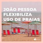 João Pessoa libera serviços de praia e realização de eventos