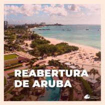 Aruba reabre fronteiras para turistas brasileiros: conheça os protocolos