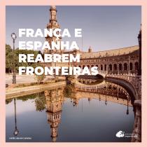 Países da Europa reabrem fronteiras para turistas vacinados, mas impedem entrada de brasileiros