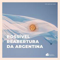 Argentina pretende começar a analisar a reabertura de fronteiras em setembro